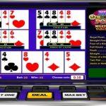 tirages multicartes au Vidéo Poker
